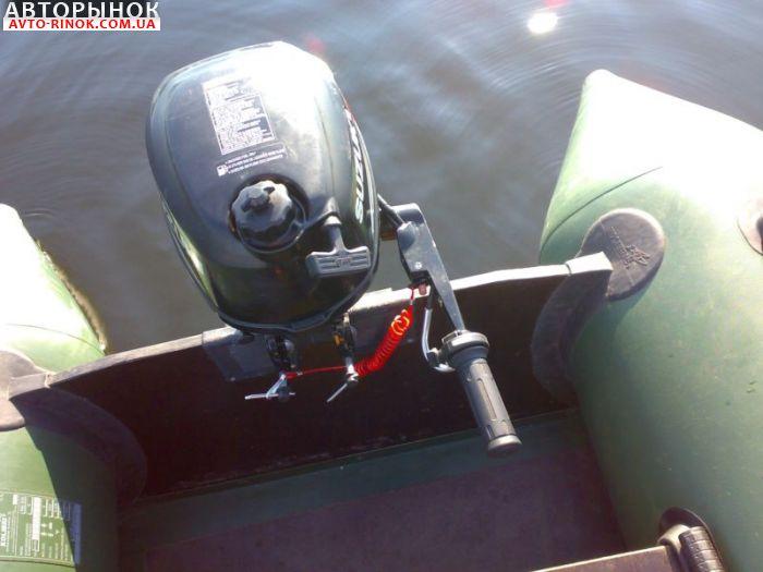 мотор ниссан на резиновую лодку