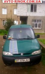 Авторынок | Продажа 1999 Peugeot Partner