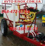 2018 Трактор МТЗ Опрыскиватель ОП 2000(18)прицепной 2500л (гидравлика-механика)
