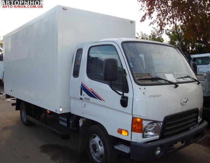 Hyundai HD 65 с термобудкой.