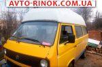 Авторынок   Продажа 1986 Volkswagen Transporter T3