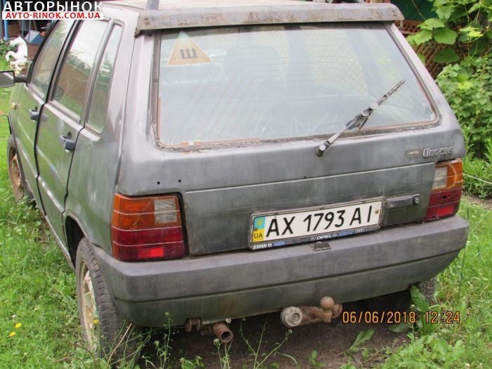Авторынок | Продажа 1986 Fiat Uno