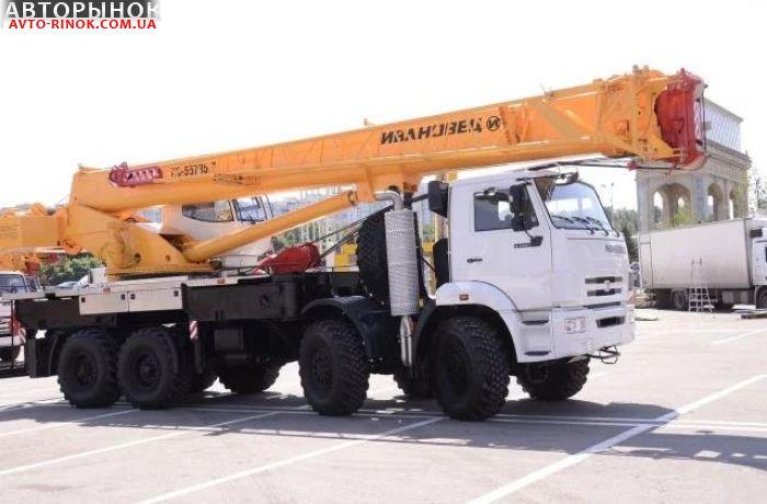 Авторынок | Продажа 2018 Автокран  КС-55735-7 Ивановец 35 тонн (8х8)
