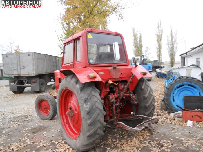 Авторынок   Продажа 1997 Трактор МТЗ 80