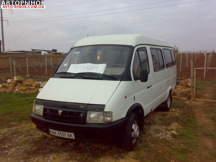 Авторынок | Продажа 2000 Газ 32213 микроавтобус