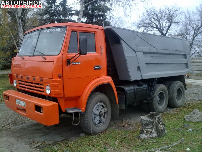Авторынок   Продажа 1991 КАМАЗ 55111 самосвал