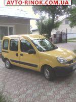 2007 Renault Kangoo пасажир