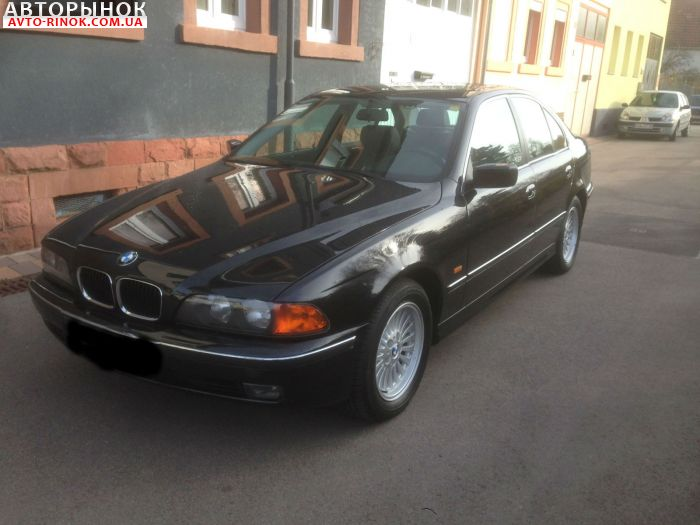 Авторынок   Продажа 1999 BMW 5 Series E39