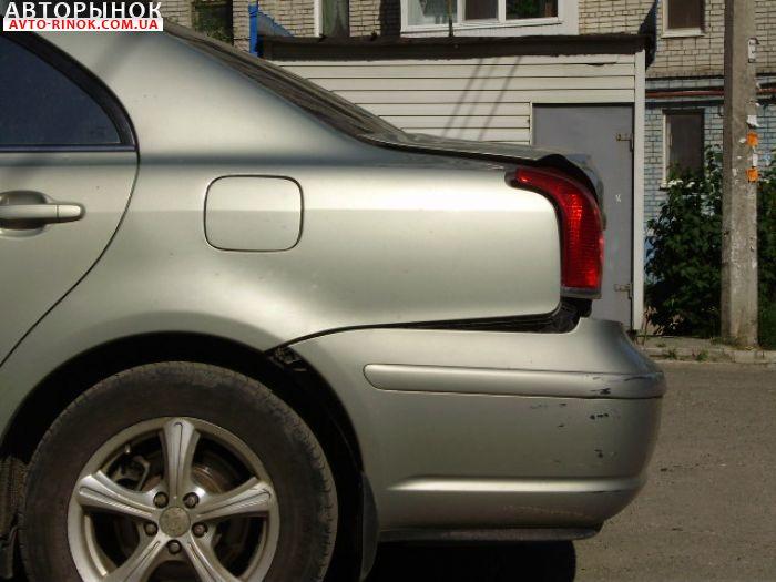 Авторынок | Продажа 2004 Toyota Avensis