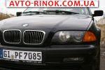 2000 BMW 3 Series E46 BMW 320, 2.2 l., universalas автобазар