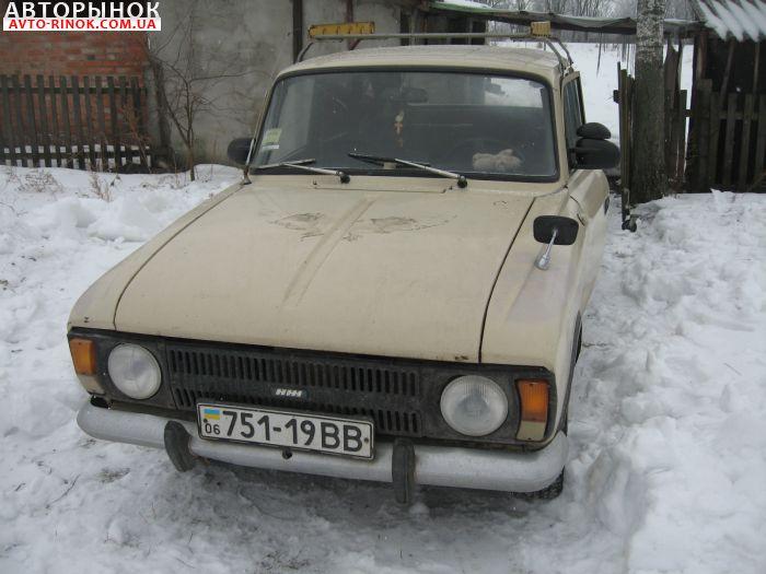 Авторынок | Продажа 1987 Москвич 2125