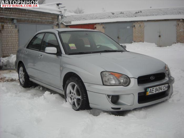 Авторынок | Продажа 2003 Subaru Impreza TS