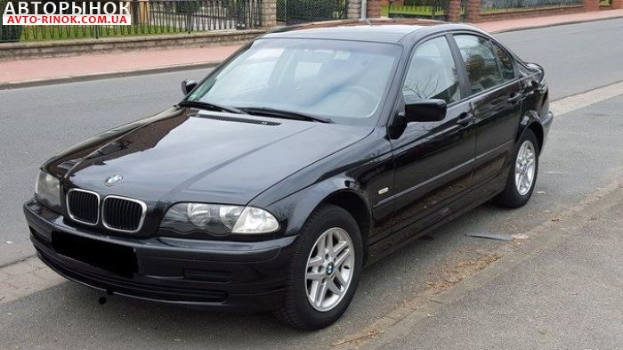 Авторынок | Продажа 2001 BMW 3 Series E46