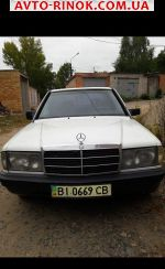 1986 Mercedes Exclusive 190  автобазар