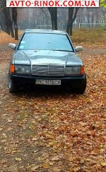 1985 Mercedes Exclusive 190  автобазар