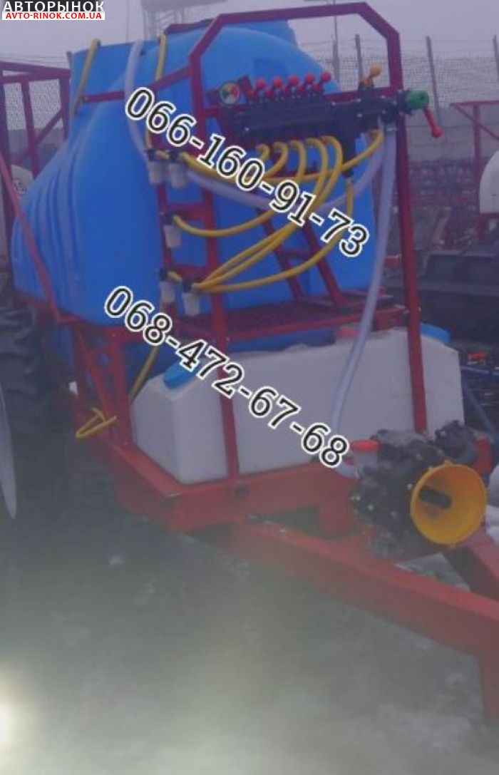 Авторынок | Продажа 2019 Трактор МТЗ Новый опрыскиватель прицепной 2000л,2500л