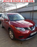 2015 Nissan Rogue 2.5 АТ 4x4 (170 л.с.)  автобазар