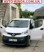2015 Nissan NV200                                        1.5 dCi МТ(  автобазар