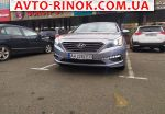 Hyundai Sonata 2.4 GDI AT (185 л.с.) 2015, 11900 $
