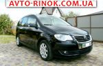 Volkswagen Touran 2.0 TDI AT (140 л.с.) 2007, 7500 $