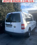 Volkswagen Caddy 1.9 TDI AT (75 л.с.) 2008, 7900 $