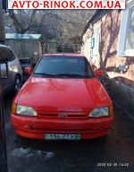 1991 Ford Escort 1.4 MT (71 л.с.)  автобазар