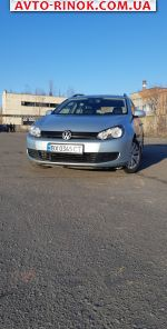 2010 Volkswagen Golf 1.2 TSI BlueMotion MT (105 л.с.)  автобазар
