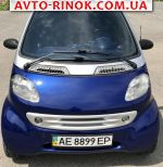 Smart Fortwo  1999, 3800 $