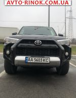 2017 Toyota 4Runner 4.0 AT AWD (270 л.с.)  автобазар