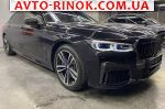 2020 BMW 7 Series 740d xDrive 8-Steptronic 4x4 (320 л.с.)  автобазар