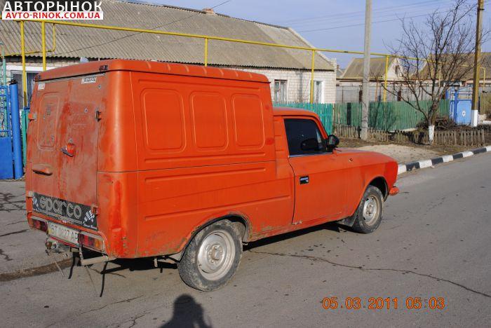 Авторынок   Продажа 1993 Москвич 2715
