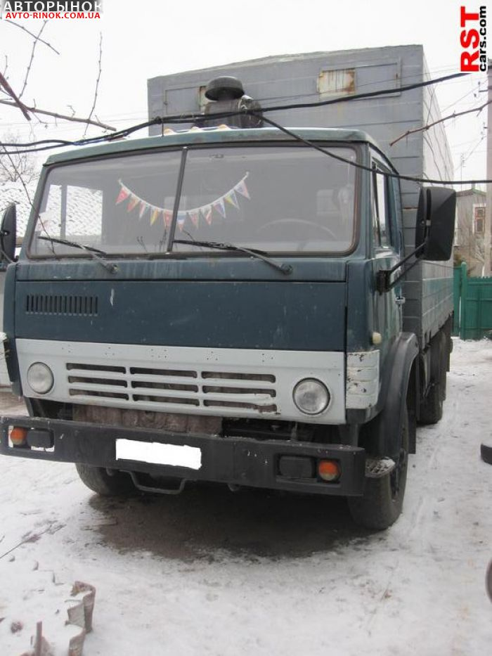 КамАЗ 5320.  Дополнительная инфо…