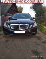 Авторынок | Продажа 2010 Mercedes E E 220 CDI BlueEfficiency MT (170 л.с.)