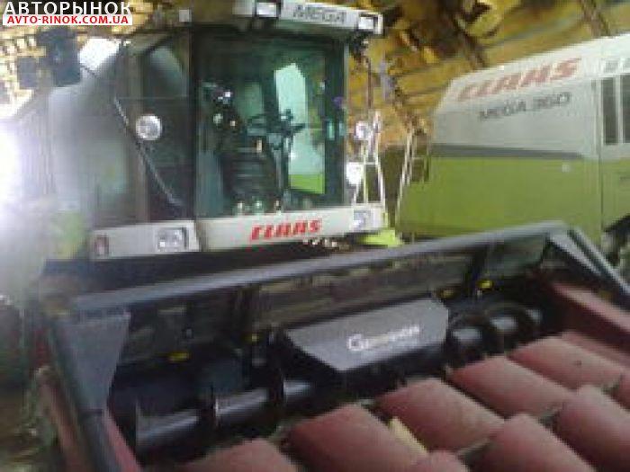 Авторынок | Продажа 2008 Комбайн  CLAAS mega 360 + кукур жатка