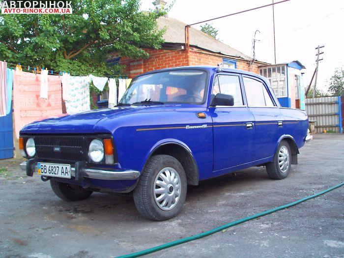 Авторынок | Продажа 1984 Москвич 412