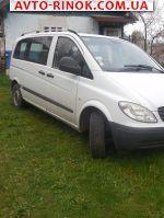 2006 Mercedes Vito пас