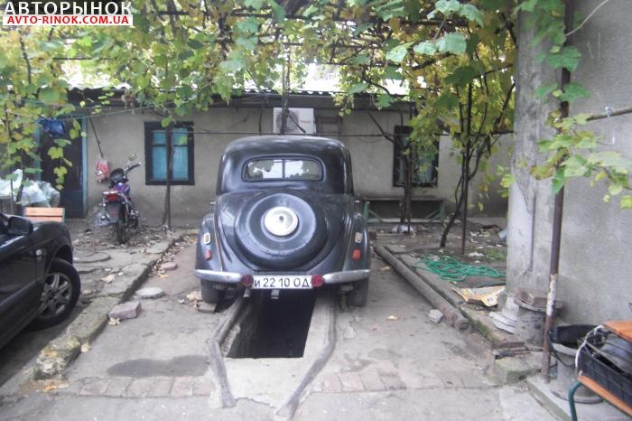 Авторынок   Продажа 1938 Mercedes 170V